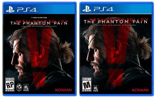 Metal Gear Solid V The Phantom Pain antes despues EGLA