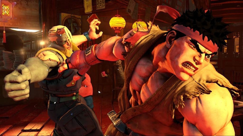 Street Fighter V nash