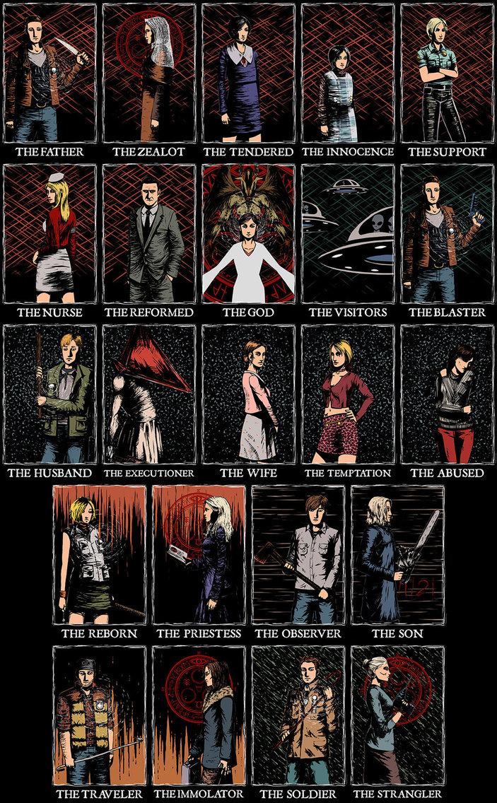 mejor survival horror 2015 silent hill personajes
