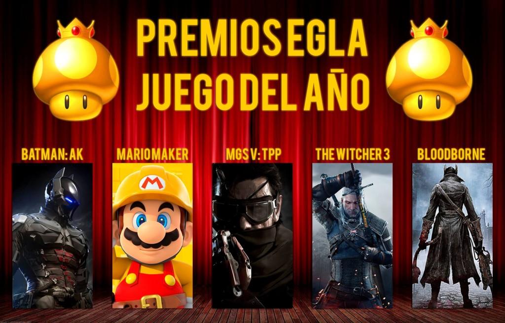 Premios EGLA 2015 Juego del Año