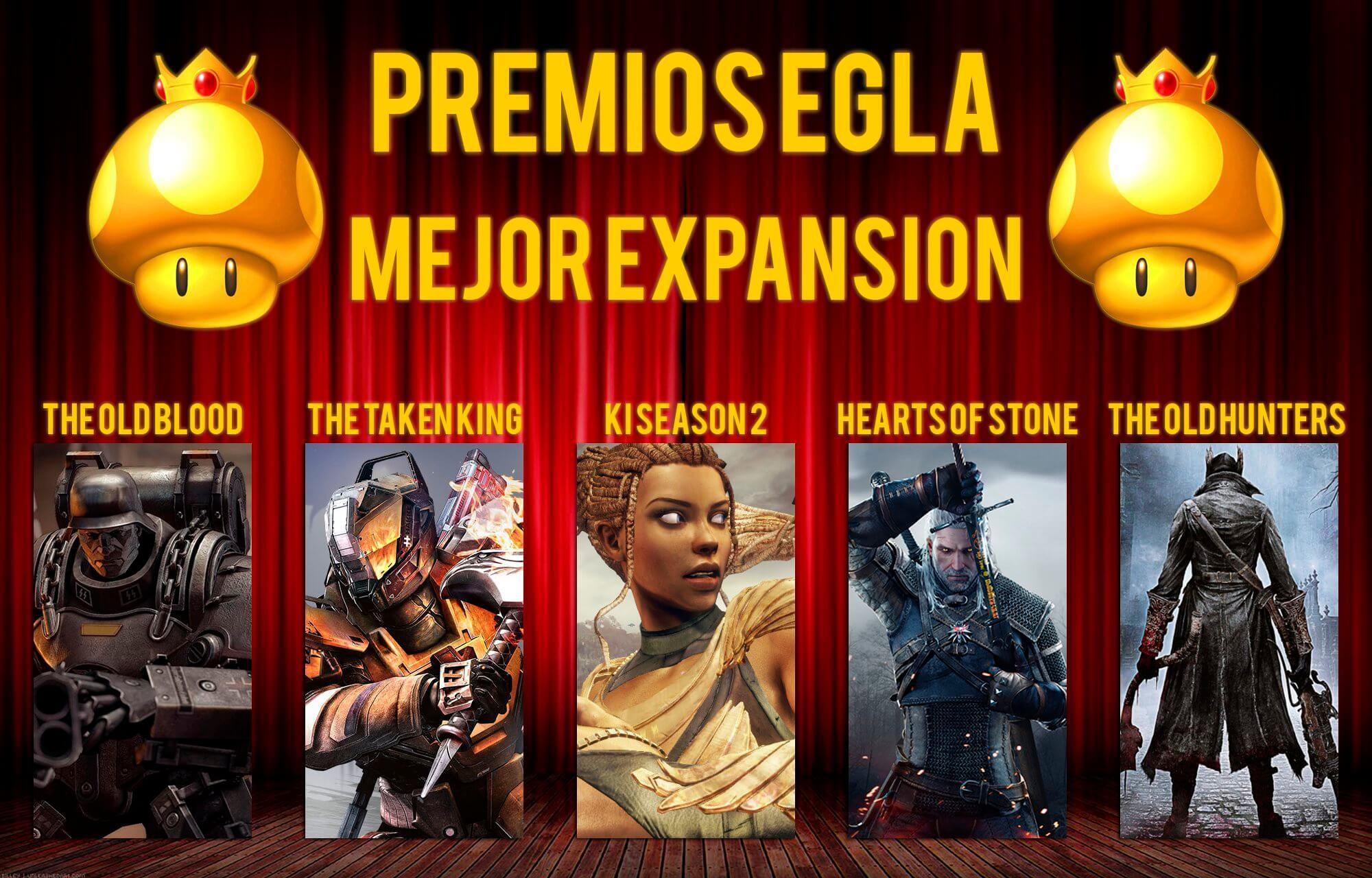 Premios EGLA 2015 Mejor Expansión