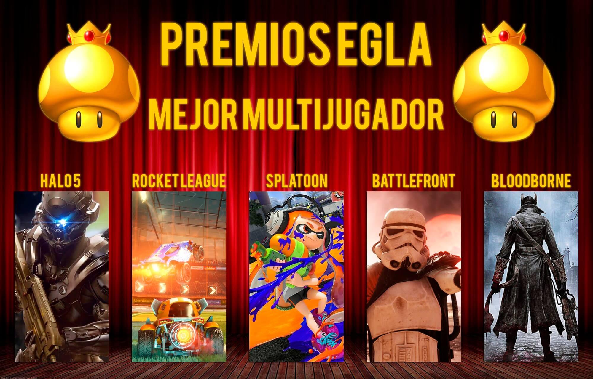 Premios EGLA 2015 Mejor Multijugador