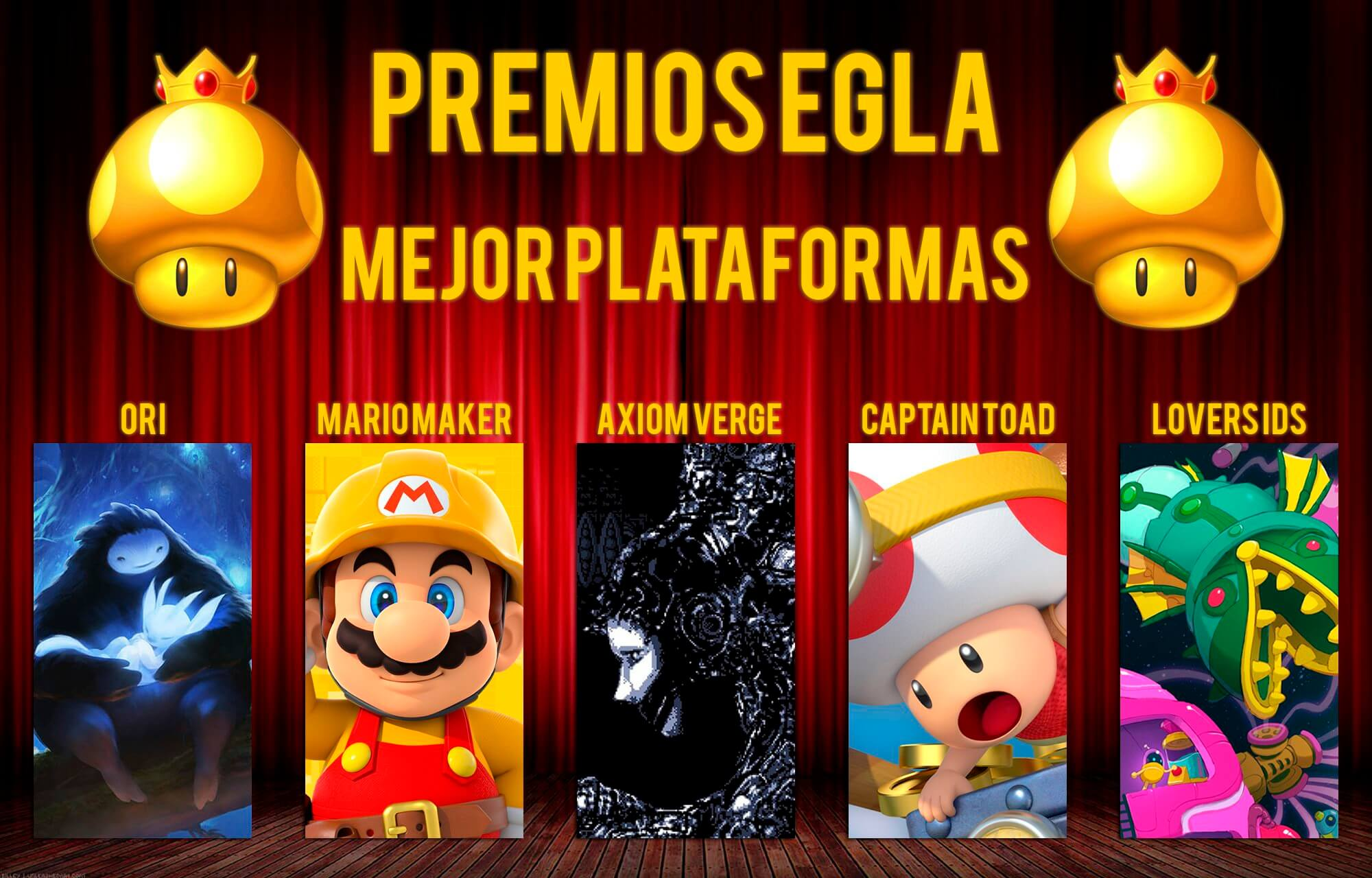 Premios EGLA 2015 Mejor Juego de Plataformas
