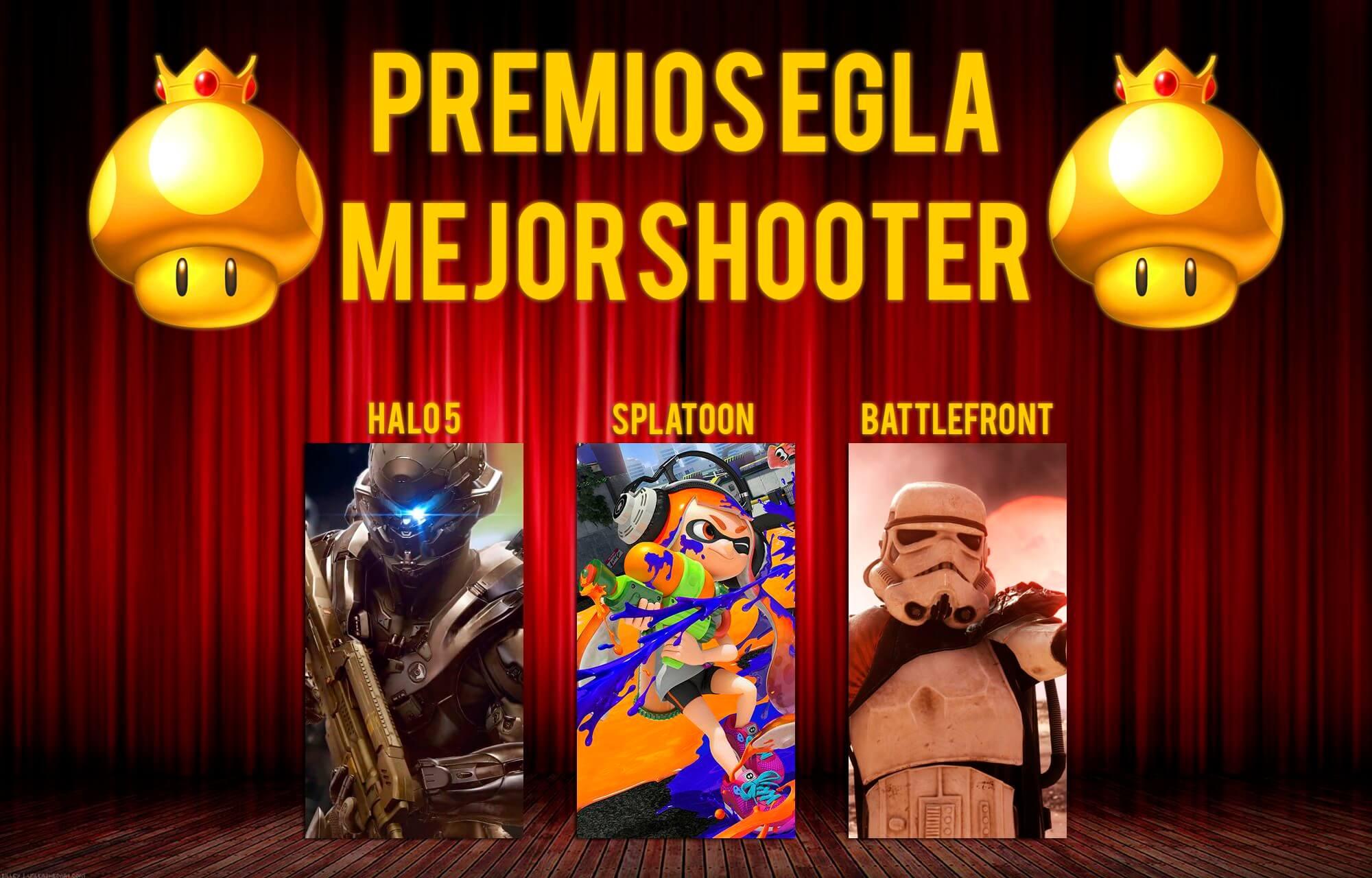 Premios EGLA 2015 Mejor Shooter