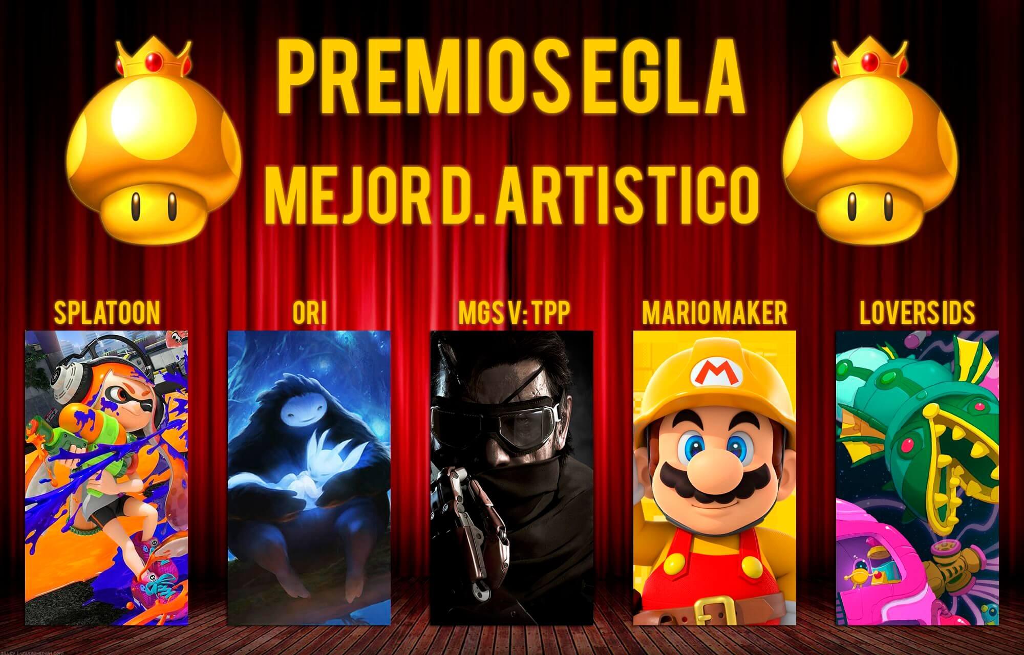 Premios EGLA 2015 Mejor diseño artístico
