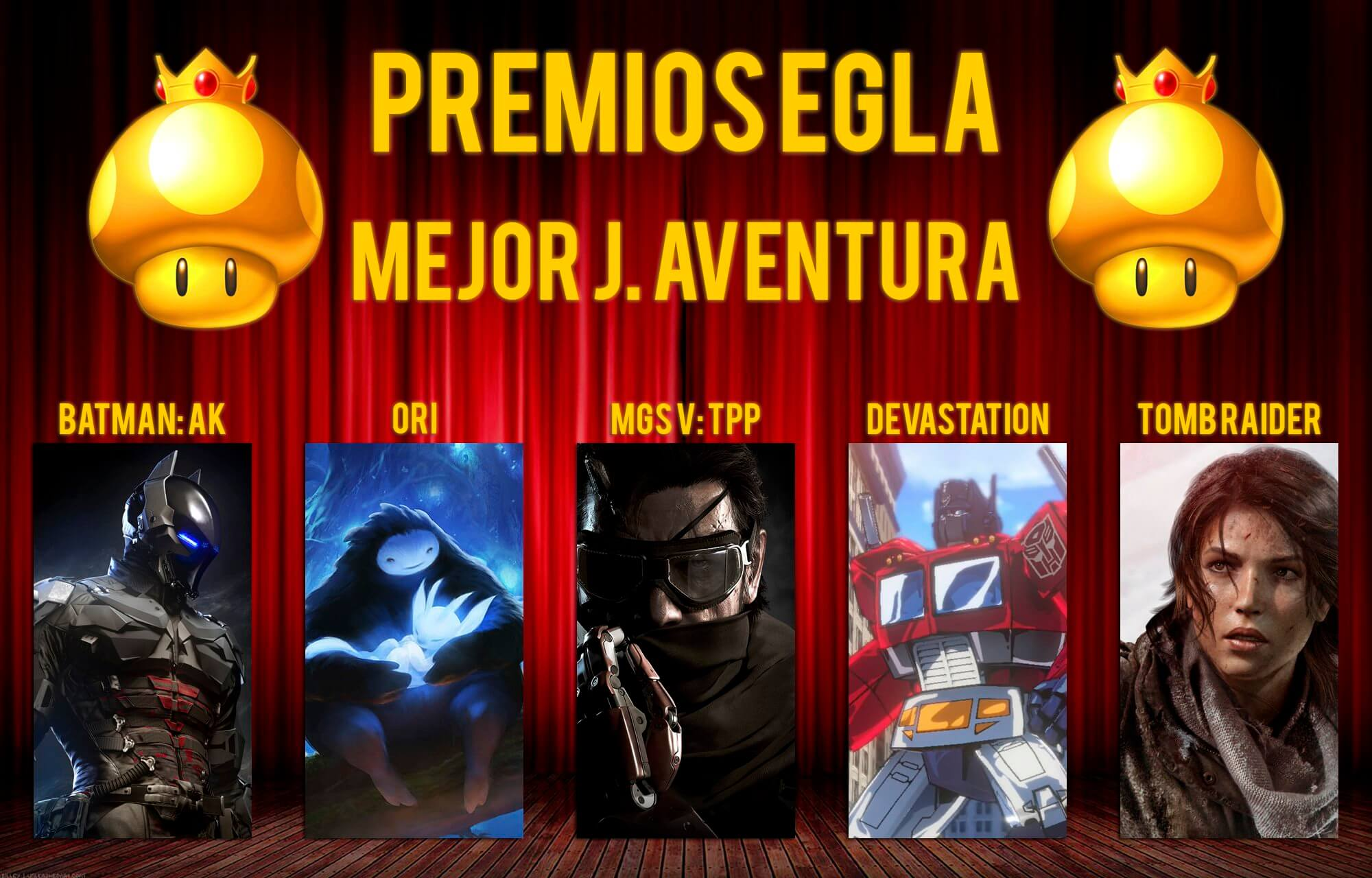 Premios EGLA 2015 Mejor Juego de Aventura