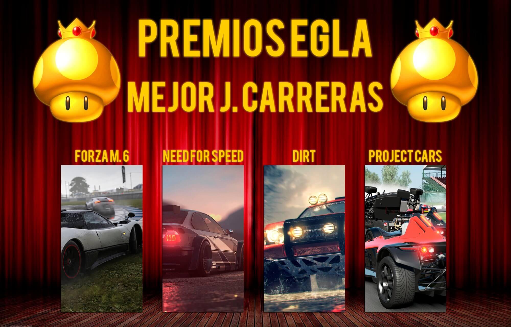 Premios EGLA 2015 Mejor Juego de Carreras