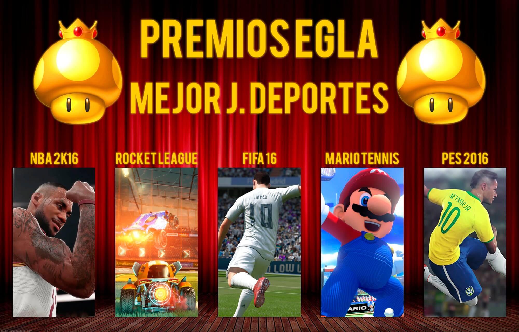 Premios EGLA 2015 Mejor Juego de Deportes