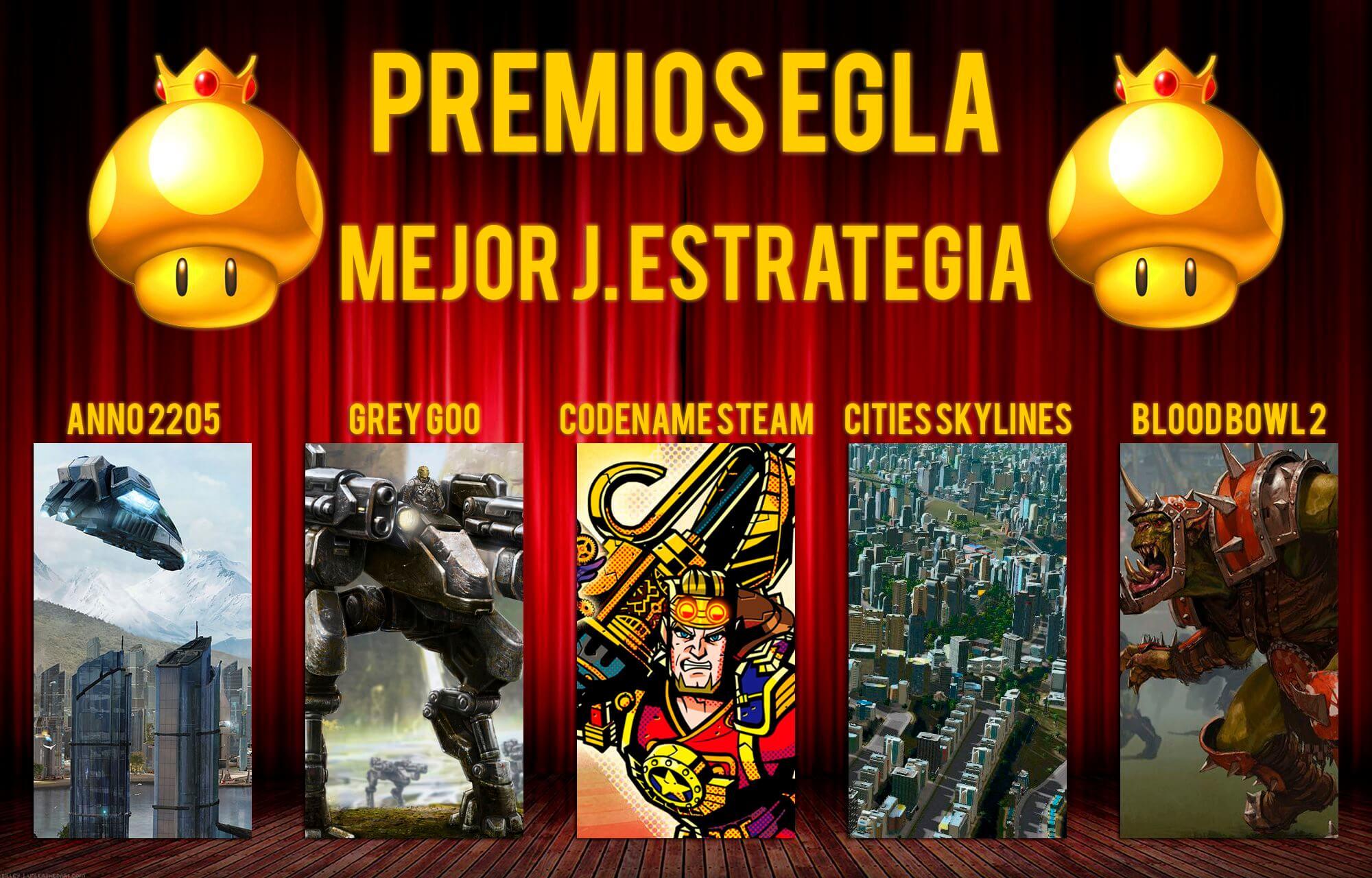 Premios EGLA 2015 Mejor juego de estrategia