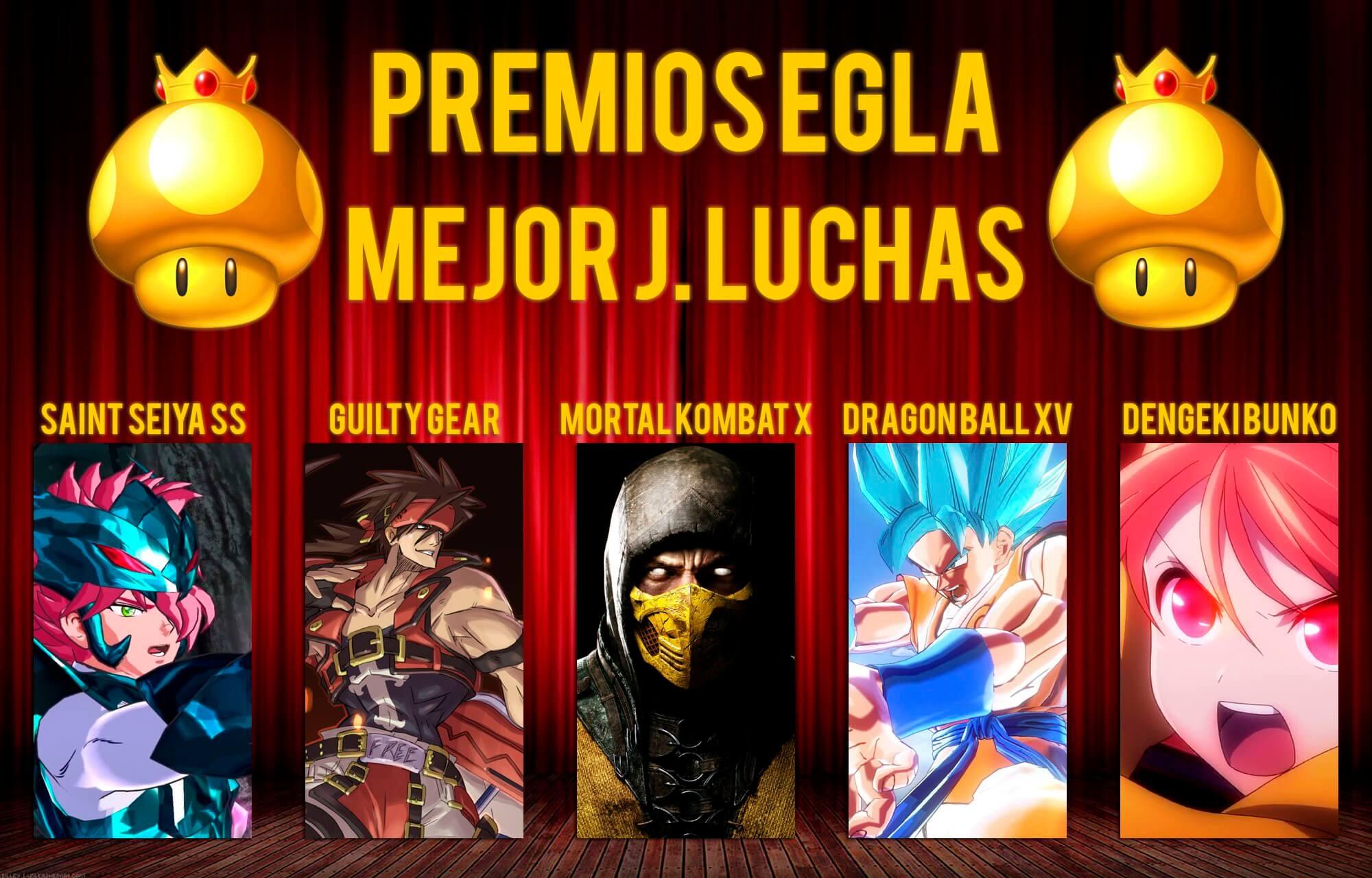 Premios EGLA 2015 Mejor juego de Luchas