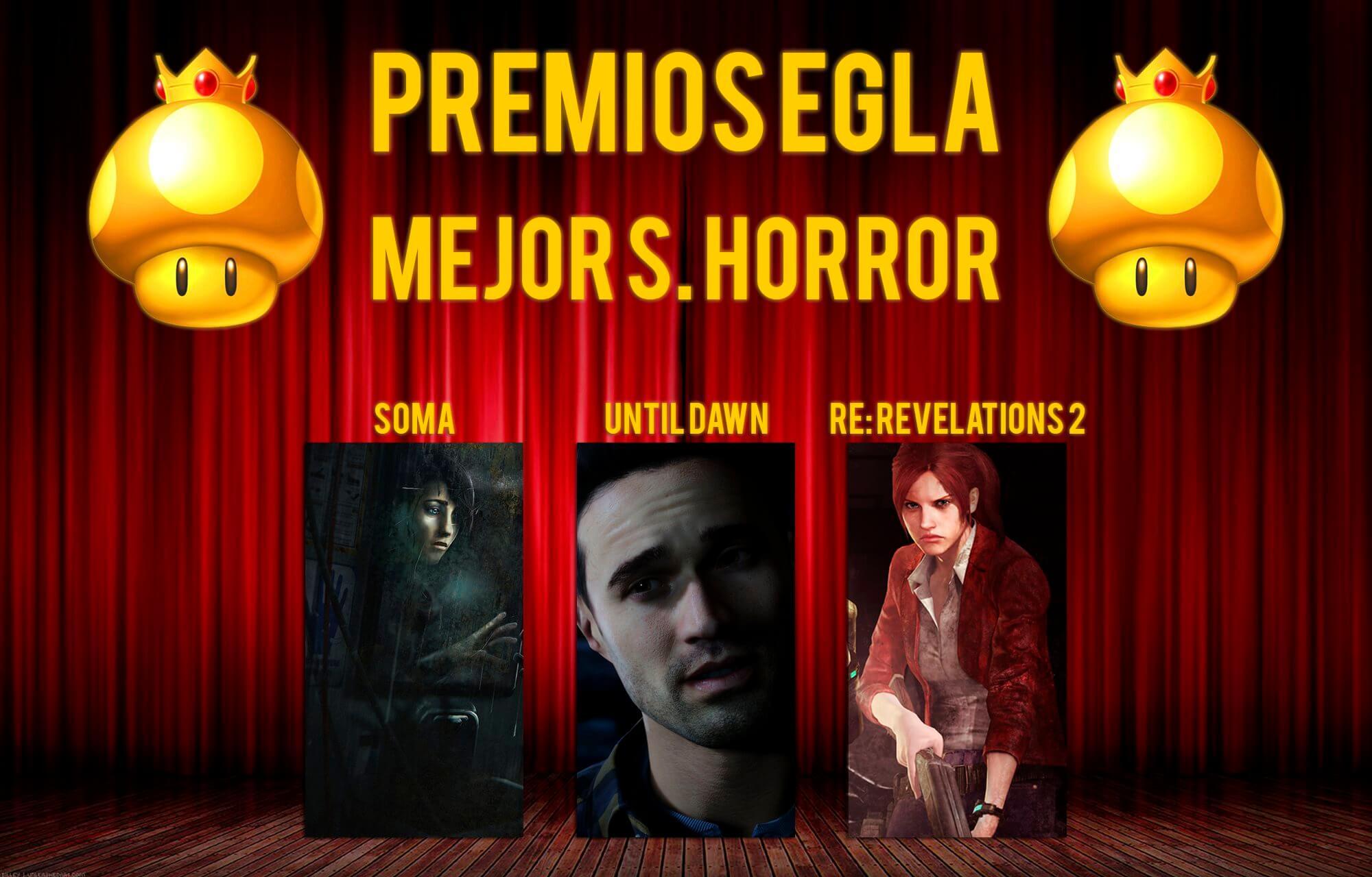 Premios EGLA 2015 Mejor Survival Horror