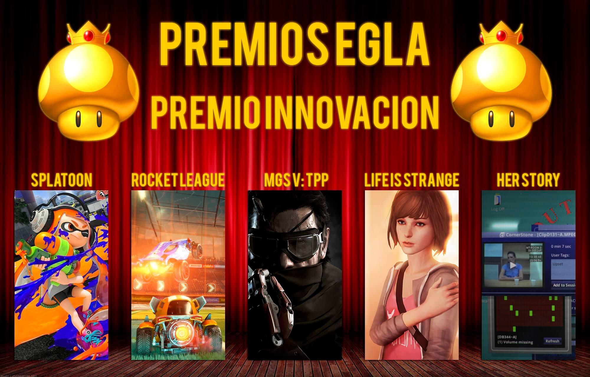 Premios EGLA 2015 Premio a la Innovacion