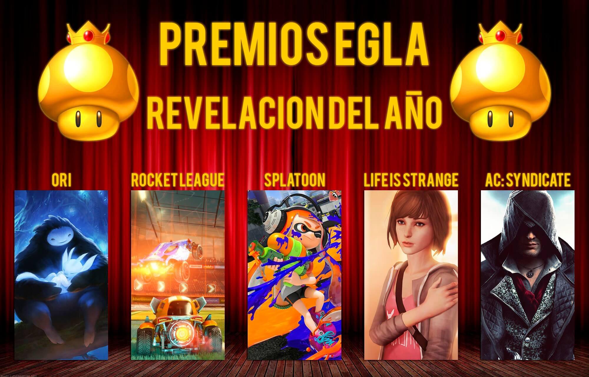 Premios EGLA 2015 Revelacion del año